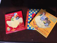 Mother Goose Library Book Set Collection for Children Hard Cover 2 books