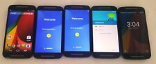 Wholesale Lot of 5 Motorola Moto G 2nd Gen XT1064 Consumer Cellular