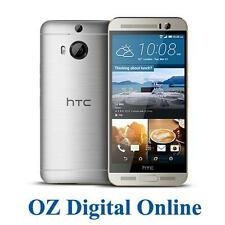 "New HTC One M9+ Plus 4G 32GB Silver LTE 5.2"" 20MP Unlocked Phone 1 Yr AuWty"
