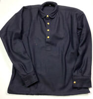 INDIAN WARS US ARMY INFANTRY CAVALRY M1878 BLUE FLANNEL SHIRT- SIZE 3 (41-44R)