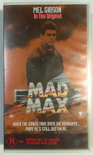 Mad Max VHS 1979 George Miller Mel Gibson Roadshow Small Case