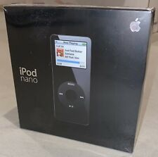 BRAND NEW SEALED Apple iPod Nano Black 1GB A1137!