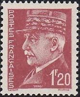 "FRANCE STAMP TIMBRE N° 515 "" MARECHAL PETAIN 1F20 "" NEUF xx TTB"