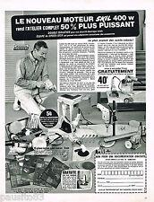 PUBLICITE ADVERTISING 055  1967  SKILL  moteur  atelier outillage