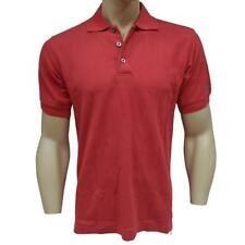 Oakley Pique Polo Mens Size S Small Red Cotton Shirt T-shirt Golf Casual Tee