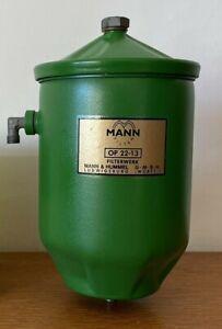 Porsche 356 912 MANN Oil Filter Canister A B C Engine