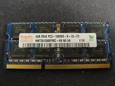 4 GIG SODIMM LAPTOP MEMORY 2Rx8 PC3 - 10600S - 9 - 10 - F2