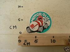 STICKER,DECAL KROON OIL  MOTOROLIE CAR A