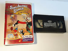 Disney song Along songs Early years VHS good condition