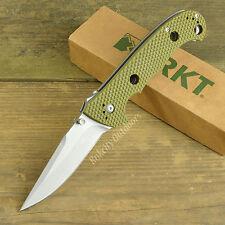 CRKT Columbia River Hammond Cruiser 8Cr14MoV OD Green Tactical Knife 7904DG