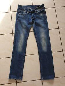 G-Star Damen Jeans Midge Straight Größe 28/32