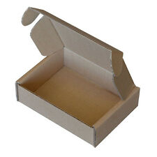 Brown Die Cut Folding Lid Postal Cardboard Boxes Small Parcel Shipping Cartons
