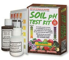 Manutec Soil PH Test Kit Simple Accurate Economical Up To 100 Tests