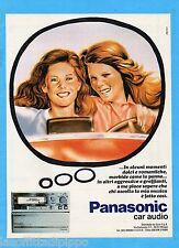 QUATTROR982-PUBBLICITA'/ADVERTISING-1982- PANASONIC CAR AUDIO  (versione A)