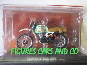 MOTO PARIS DAKAR 1/24 YAMAHA 500 XT 1979 CYRIL NEVEU