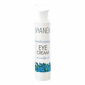 Vianek Moisturizing Eye Cream Evens And Smoothes Skin Tone 15ml
