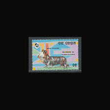 Gambia, Sc #1400b, Mnh, 1993, Dog, Skye Terrier, 3Fai
