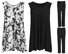Sleeveless Floral Other Tops Plus Size for Women