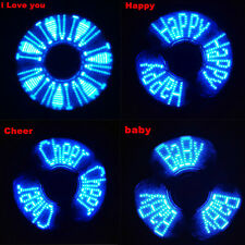 LED light Fidget Hand Spinner Finger Toys EDC Focus Gyro Gifts For Adult kids IT