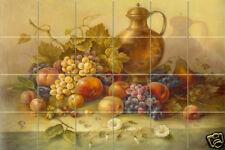36 x 24 Art Corrado Pila Mural Ceramic Grape Backsplash Tile #337