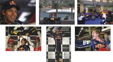 Sebastian Vettel F1 Formula One Champion POSTCARD Set