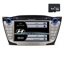 "7"" Car Dash DVD GPS Navigation Radio Stereo Bluetooth for Hyundai IX35 Tucson"