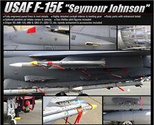 Academy 1/48 Plastic Model Kit USAF F-15E Seymour Johnson 12295 NIB Strike Eagle