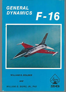 Aero 26, General Dynamics F-16 Softcover Reference, USED