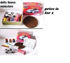 MODEL CAR kit  DISPLAY DOLLS HOUSE MINIATURE