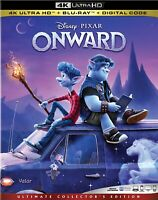 ONWARD 4K + Bluray (No Digital) (No Slip Cover) Brand New Untouched