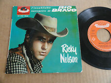 "DISQUE 45T DE RICKY NELSON  "" RESTLESS KID """