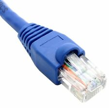 20 ft,foot CAT 5e Cable Patch Cord Ethernet LAN Network Router Switch RJ45 Blue
