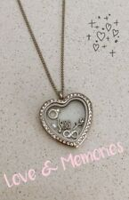 Floating Memory Love Locket Charms Mothers Day Special Necklace Gift Set New