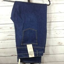 Talbots Womens Jeans Blue Denim Dark Wash Bootcut Size 22