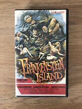 PRE CERT FRANKENSTEIN ISLAND VHS VIDEO Derain Films