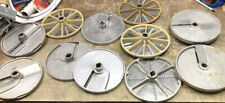 Food Processing Blades Possibly Robo Coupe??? Lot Of 11