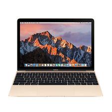 Apple MacBook Core M 1.1GHz 8GB RAM 256GB SSD Retina 12 Gold MK4M2LL/A WORN KEYS
