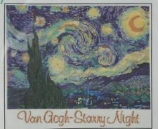 Ladybug Designs Van Gogh Starry Night Counted Cross Stitch Kit BRAND NEW SEALED