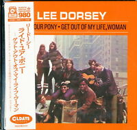 LEE DORSEY-RIDE YOUR PONY - GET OUT OF MY.....-JAPAN MINI LP CD BONUS TRACK B57