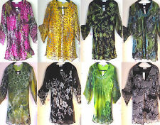 V-Neck Party Floral Plus Size Tops & Shirts for Women
