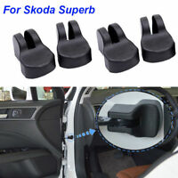 4pcs Door Check Arm Protection Limiting Stopper Case Cover For Skoda Superb