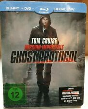 Mission : Impossible Ghost  Protocole Blu-Ray  Steelbook Germany import New
