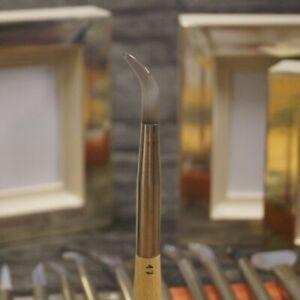 Achatpolierstein Größe 17 zum vergolden Blattgold Blattsilber Gold