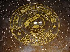 """Christnacht Heilige Nacht auf Engelsschwingen Symphonion Pl. 34,5cm disc 13 5/8"""""""