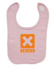 Babybugz Latz Bib Lätzchen Sabber Baumwolle Geschenk Klecker rosa NEU reizend