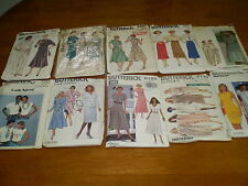 Clearance  Lots 10 Vintage Sewing Patterns Patron Couture Butterick