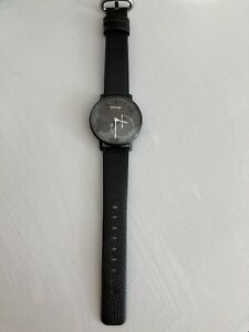 Withings Activite Pop Fitness & Sleep Tracker With New Black Leather Strap