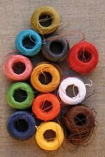 Sajou 12 Brights Fil Au Chinois Waxed Linen Sewing Thread Box of 12 Colors