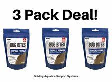Fluval Bug Bites Tropical Formula Granules For Medium-Large Fish 4.4 Oz 3 Pack!