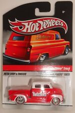 Hot Wheels 50s Chevy Truck Twizzlers Red/White 2009 Redline Real Riders NEW